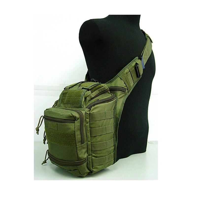 Outdoor Military font b Tactical b font Sling Sport Travel Chest Bag Shoulder Bag for Men
