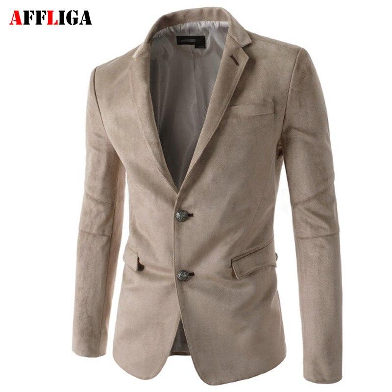 New Brand Autumn Suit Blazer Men Fashion Slim Fit Male Suits Jacket Casual Solid Color Masculine