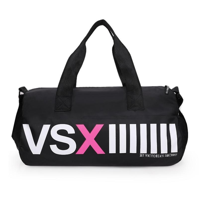 73d6e6db52 Big Capacity Men Sport Gym Bag For Women Outdoor Nylon Tote Duffel Bag Male  Travel Gym Fitness Female Yoga Mat Bag Sac De Sport