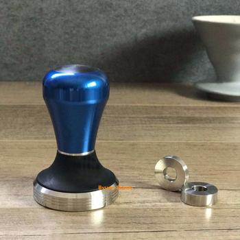 1 pc nowy wysokiej jakości ze stali nierdzewnej ekspres do kawy w proszku sabotaż 58 ekspres do kawy espresso ubijak do kawy długość projekt regulacji ekspres do kawy w proszku narzędzia tanie i dobre opinie Części ekspres do kawy YHT17C BYUAN HOME China (Mainland) Coffee tool Coffee Tampers 58mm stainless steel 0 5kg 7x7x12cm