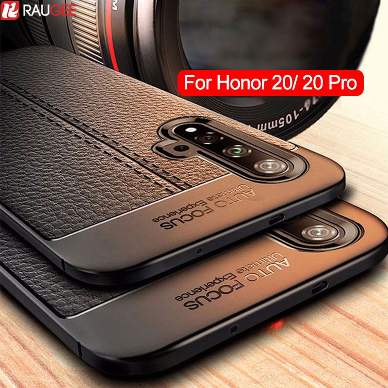 Phone Case For Huawei Honor 20 Case Luxury Bumper Full Protection Cover For Honor 20 Pro Case Silicone Coque Soft TPU Funda image
