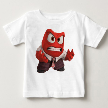 2018 hot sale Children Clothing T Shirt Inside Out Lovely Boy Girl Clothes T-Shirt fear anger Cartoon Childrens clothing MJ