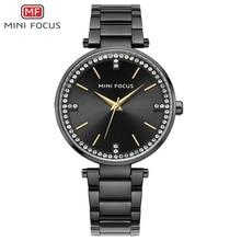 купить MINIFOCUS New Ladies Famous Brand Quartz Watch 2017 Top Fashion Dress Women Watches Female Clock Montre Femme Relogio Feminino по цене 1303.41 рублей