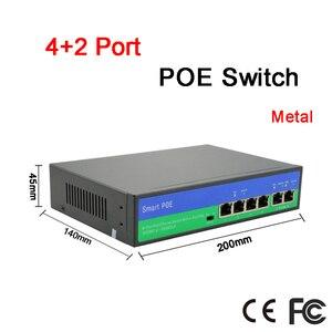 Image 2 - Chất Liệu Kim Loại 150 M Khoảng Cách Truyền Dẫn 10 Cổng 6 Port PoE Cho PoE IP Miễn Phí Vận Chuyển