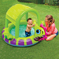 EMS family swimming pool kids large pvc inflatable pools seats animals paddling airbed pool floating  for children kids baby