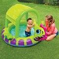 EMS piscina da família crianças grandes piscinas infláveis do pvc assentos animais remar airbed piscina flutuante para crianças dos miúdos do bebê