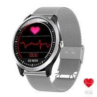 ECG PPG Smart Bracelet Smartwatch Measurement Blood Pressure N58 Watch Fitness Bracelet Waterproof Smart Wristband Watch Men ecg