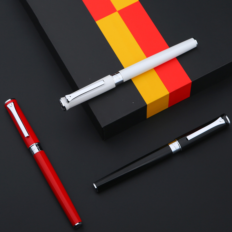 0.5mm Nib PicassoT8 Iridium Fountain Pen Business/Office Pens High End Luxury Gift Free Shipping picasso 902 fountain pen nib iridium point newest model new design promotional set pen design gift