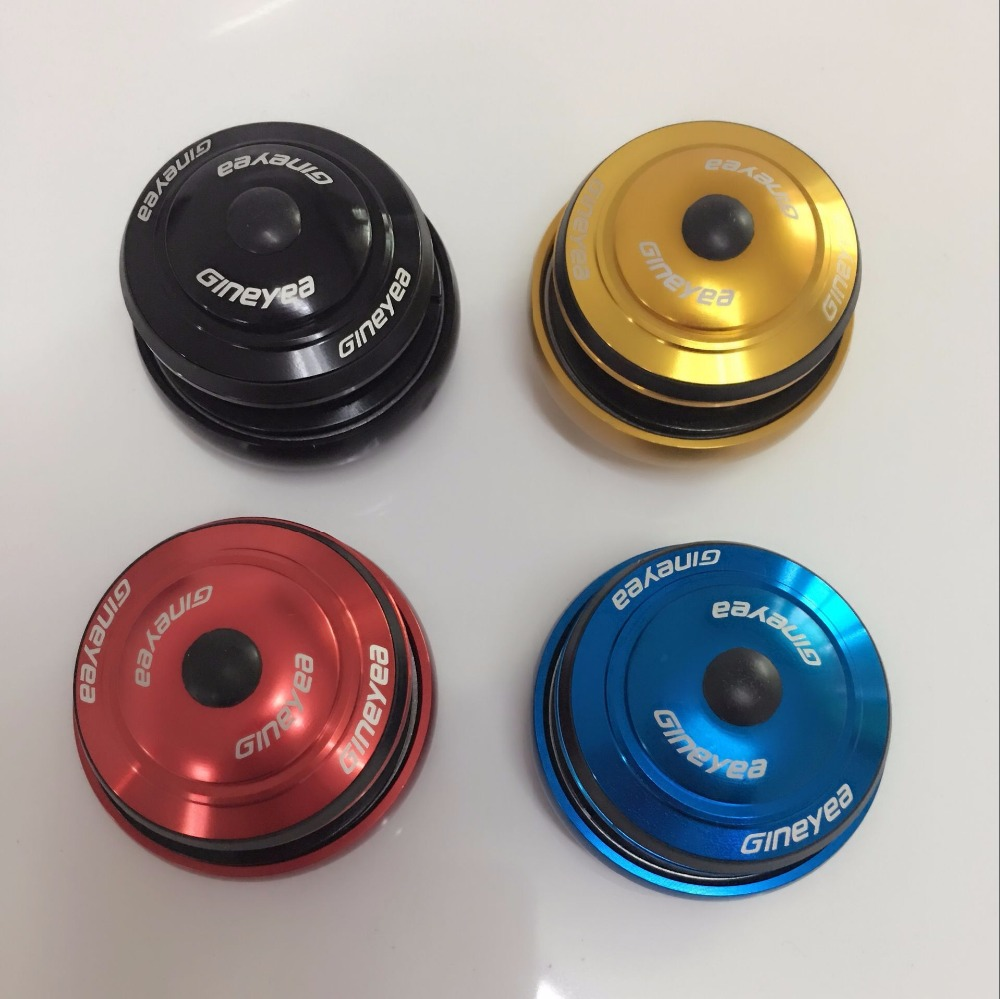 GINEYEA SUNPRO 1-1 / 8 ποδήλατο ευθεία κεφαλή σωλήνα μετατρέπουν 1,5 πηρούνι πιρούνι ειδικό ποδήλατο ακουστικό 44mm