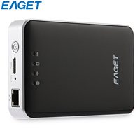EAGET 2.5 Portable External Hard Drive USB 3.0 1TB 2TB HDD Hard Disk Wifi disco duro externo With 3G Router Mobile Power Bank