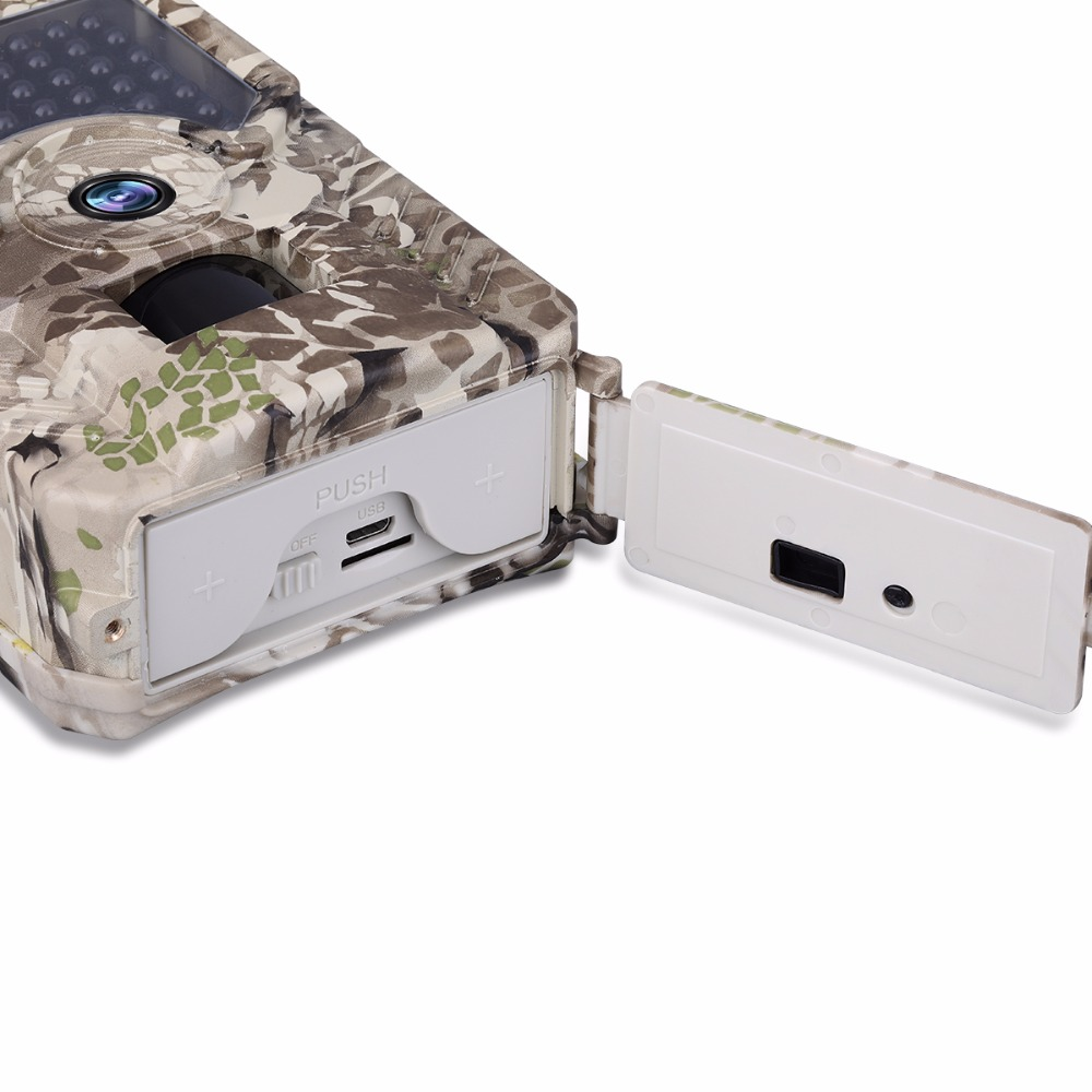 Game Trail Camera HD 1080P 49pcs IR Wildlife Motion Activated Hunting Camera Night Vision Trail Camera Video recorder photo trap (12)