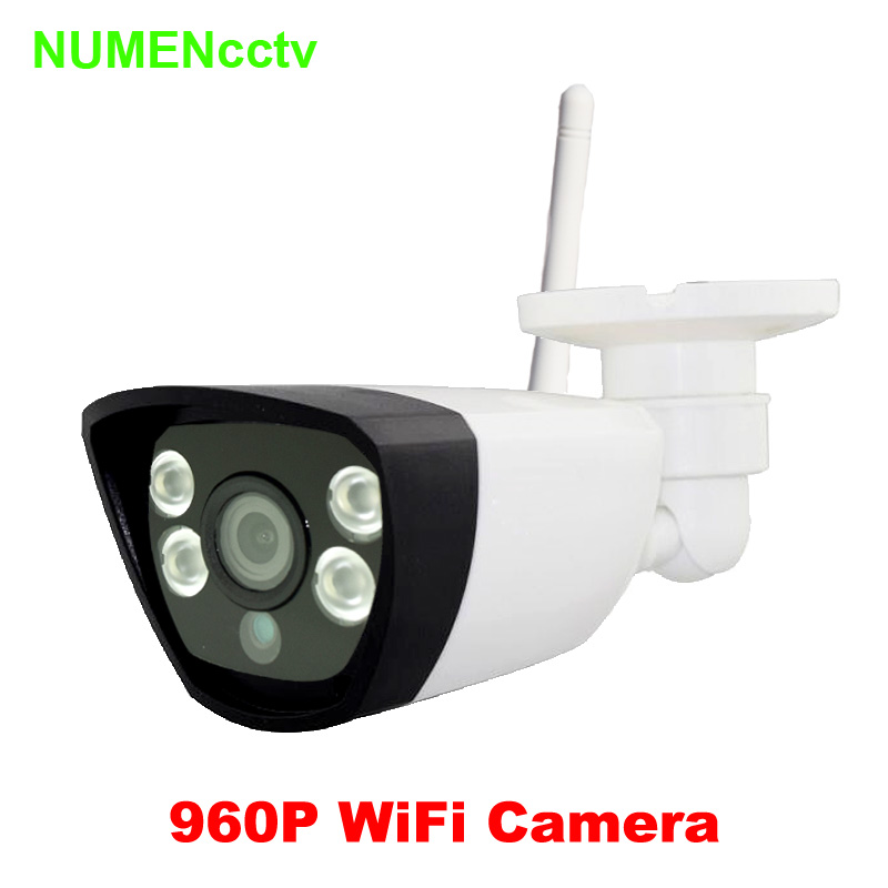 Hot HD Wireless 1.3MP  960P IP Camera Network Onvif Outdoor Security Waterproof Night Vision CCTV security surveillance system wireless ip camera hd 1 3mp ip outdoor camera 960p security waterproof vandal proof onvif camera tfk16gb 32gb optional