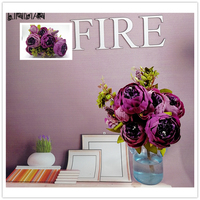 50 cm Şakayık Yapay İpek Çiçek Buket Gelin Sahte Çiçekler Parti Malzemeleri Yapay Süslemeleri Yapay Kurutulmuş Çiçekler