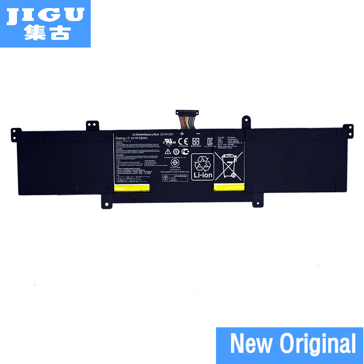 JIGU 0B200 00580100M C21N1309 C21PQ2H Original laptop Battery For ASUS Q301L for VivoBook S301LA S301LP