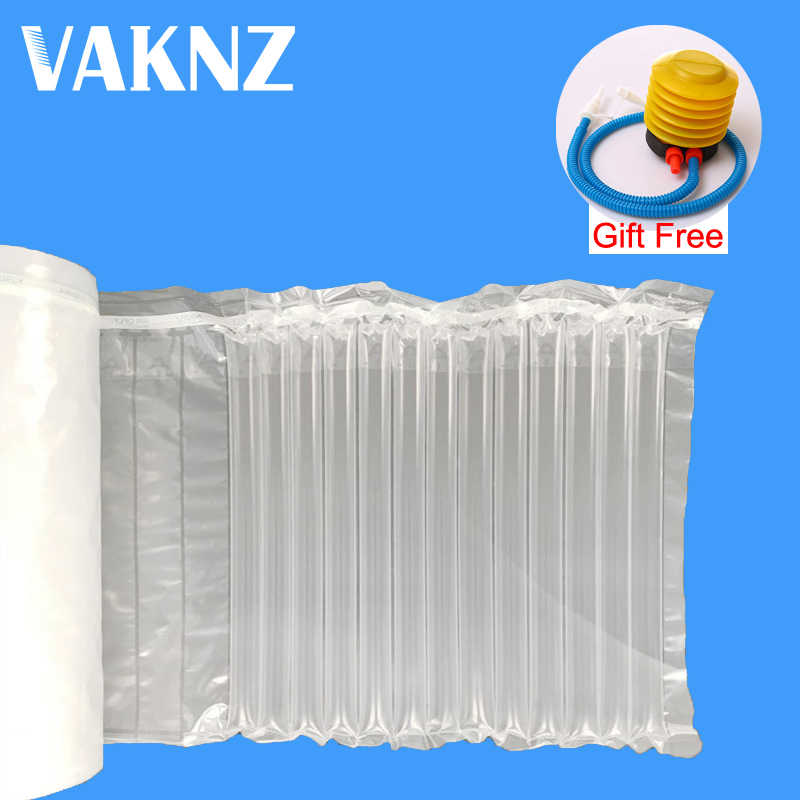 Air Column Inflatable Bubble Bag Shockproof Logistics Buffer Fragile Bale Cushion Packaging Roll Film Protection