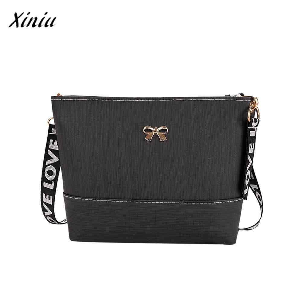 60efc6a5c88a Xiniu Brand New Women Bag Ladies Leather Shoulder Bag Messenger Satchel Tote  CrossBody Bag Handbags Fashion