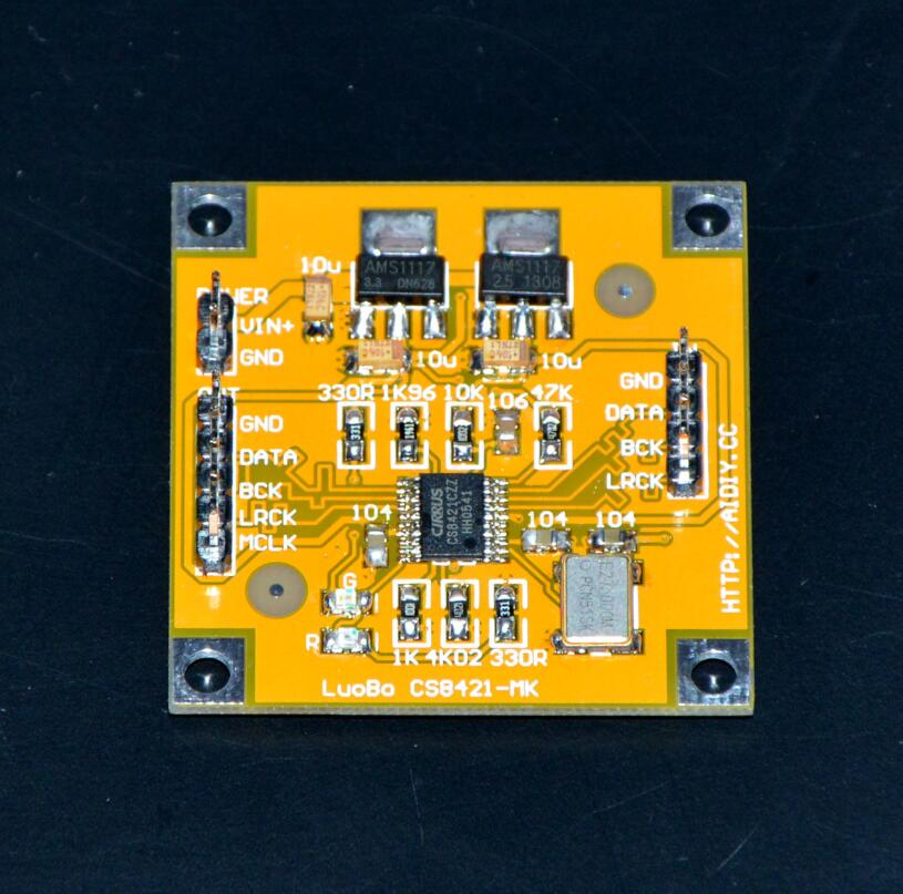 CS8421 I2S sampling rate conversion up frequency module for hifi amplifier A9-014