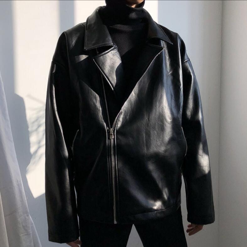 Cantante De Flip Suelto Locomotora Pelo Ropa Gd Trajes Cuero Estilista Chaqueta Vuelo collar Prendas negro 2019 Hombres Vestir Apricot tFZnOq118
