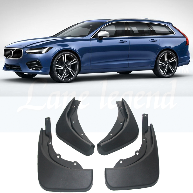 31435991 Genuine Volvo XC60 Front and Rear Mudguards 2018-2019 OEM 31435990