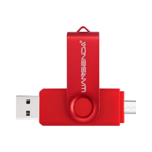 WSD-S100 OTG USB Flash Drive USB 2.0 Smartphone Pen Drive 4gb 8gb 16gb 32gb 64gb Memory Stick External U-Disk Flash Card