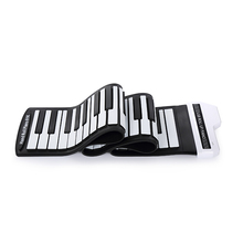 HiFing 61/88 Keys Electronic Piano MIDI Keyboard Silicon Flexible USB Roll Up Piano Portable Foldable for Beginner Rechargeable