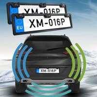 2pcs European Frame Auto Parking Sensor Car Front Rear Radar Visible Reversing Radar HD CCD Double