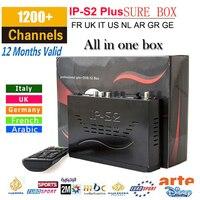 Nueva IP-S2 Plus Full HD 1080 P Receptor de Satélite DVB-S2 + 1000 + IPTV Digital Video Broadcasting de tigre z280 mag254/ips2/ip-s2