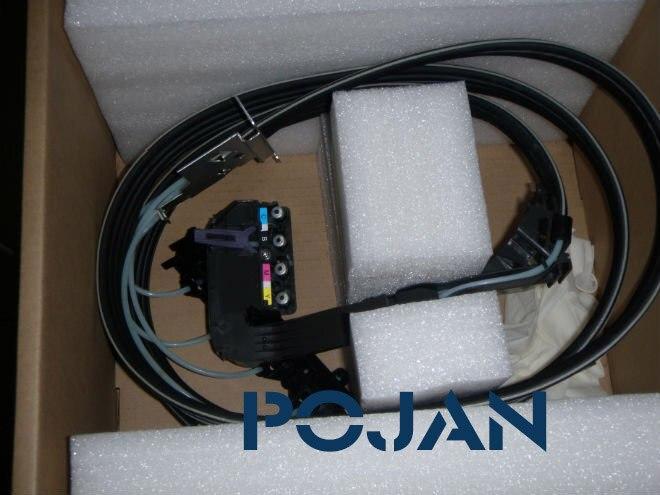 42 pouces Designjet 500 510 800 ps Tubes D'encre système C7770-60286 C7770-60014 (Refrubish) encre tête d'impression traceur tubes Livraison gratuite