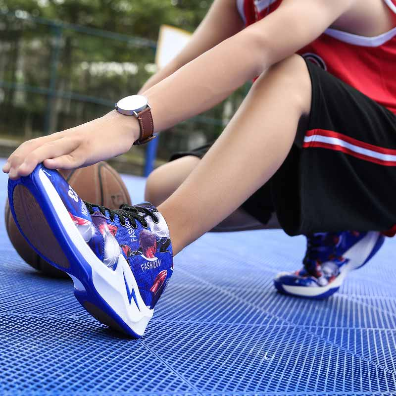 Latest Sneakers Basketball Couples Sport Shoes Basketball Boy Wearable Sneakers Brand Shoes Mangobox Outdoor Shoes Training Men in Basketball Shoes from Sports Entertainment