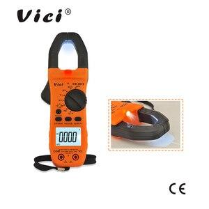 Image 4 - Tragbare Digitale Clamp Meter ViCi Multimeter AC/DC Volt Strom Spannung Ohm NCV Temperatur Tester Widerstand Amperemeter CM 2016