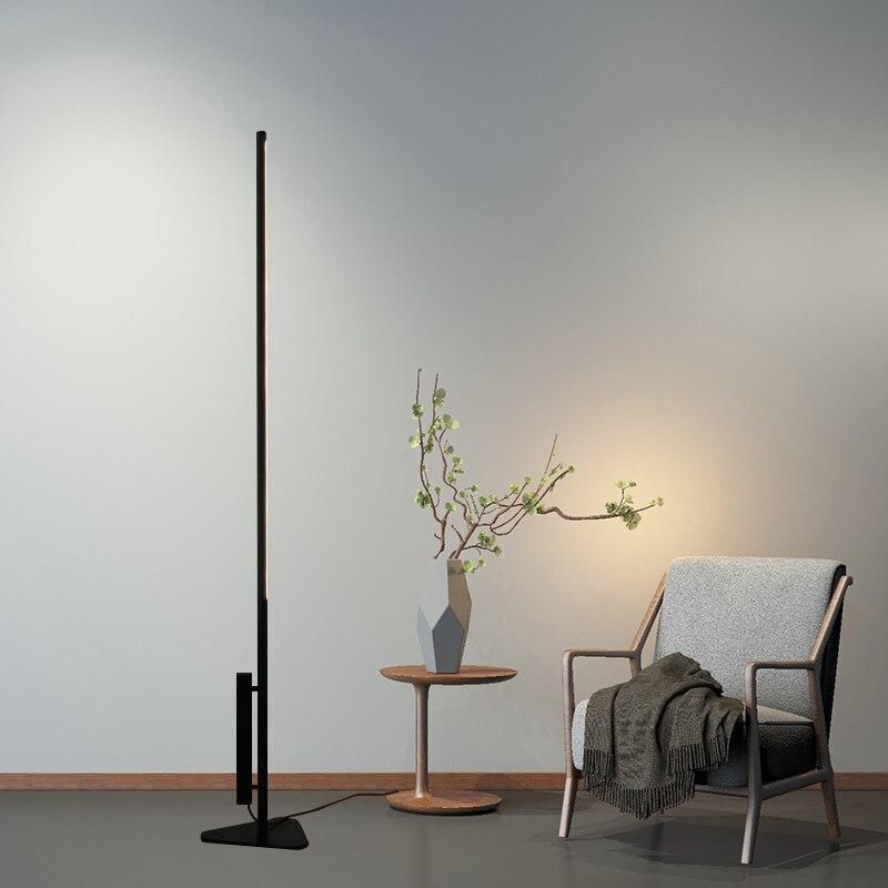 Post-moderne lampadaire LED salon chambre Studio bande T5 Tube créatif Designer luminaire de sol luminaire H188