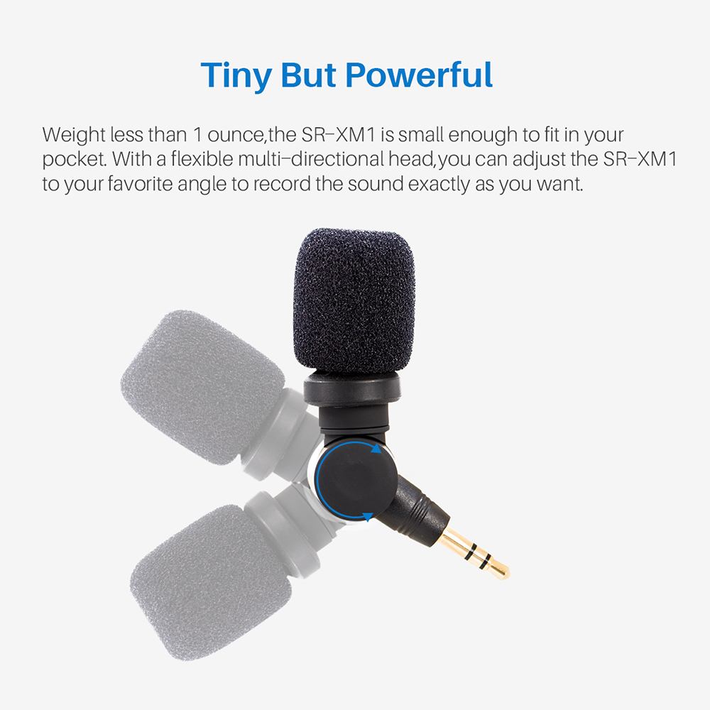 Image 2 - Saramonic 3.5mm TRS Mini Vlog Wireless Omnidirectional Microphone