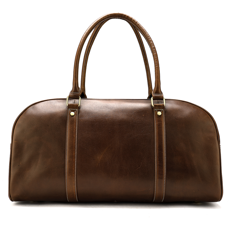 Large Capacity Multifunction Men Travel Duffle Bag Genuine Leather Fashion Laptop Tote Bag Men Luggage Duffle Travel Bags New
