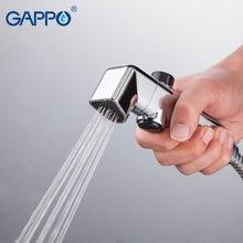 Gappo Bidet Faucets ABS Bathroom shower tap bidet toilet sprayer Bidet toilet washer mixer muslim shower head Spray Nozzle