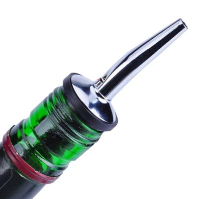 Stainless Steel Wine Pourers Liquor Spirit Pourer Flow Wine Bottle Pour Spout Stopper Barware Hot Sale