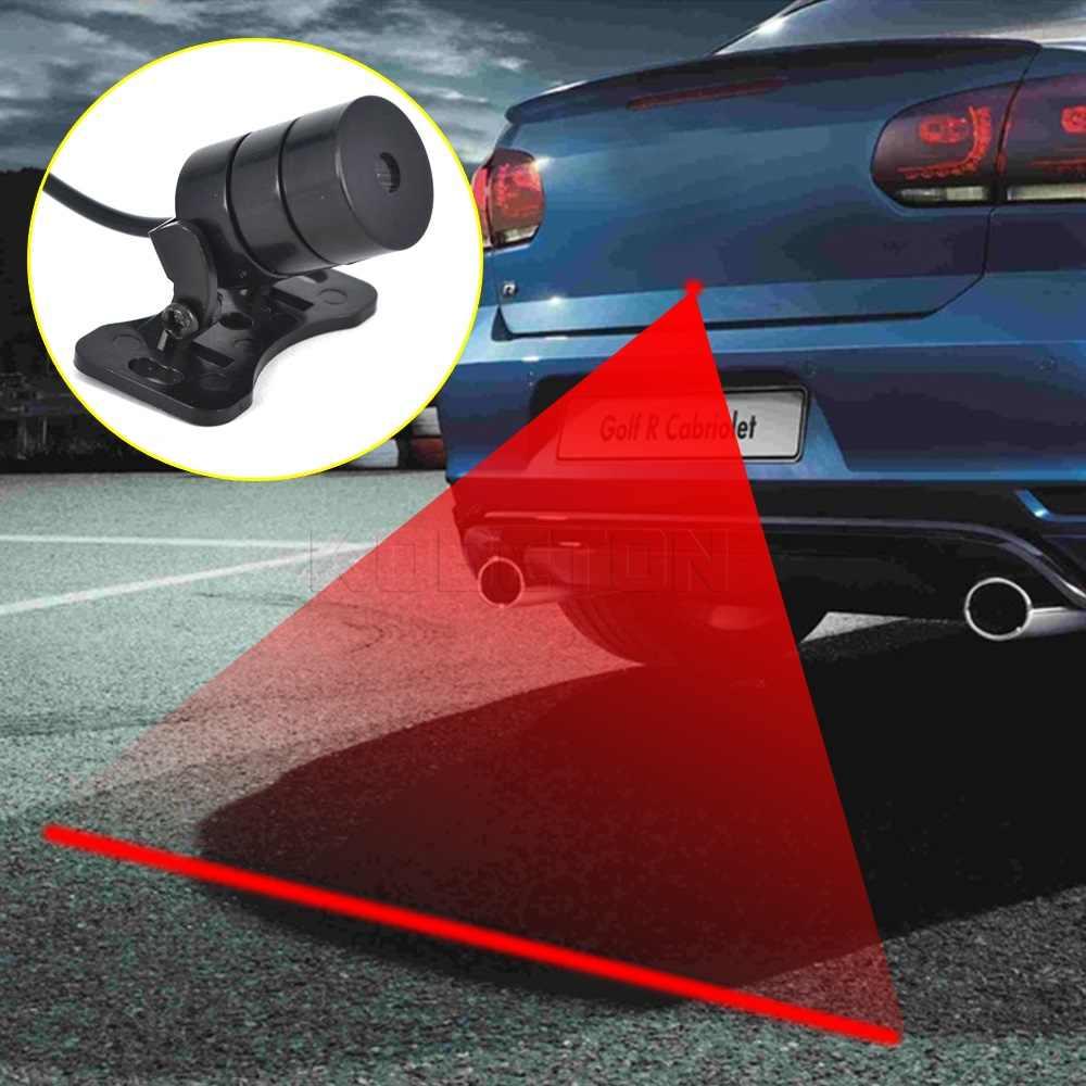 Alta Qualidade 12V Auto Anti-Colisão Anti-Extremidade Traseira Do Carro Do Laser Levou Carro de Nevoeiro Cauda Nevoeiro À Prova de Chuva criação de Aviso da lâmpada Luz Do Projetor