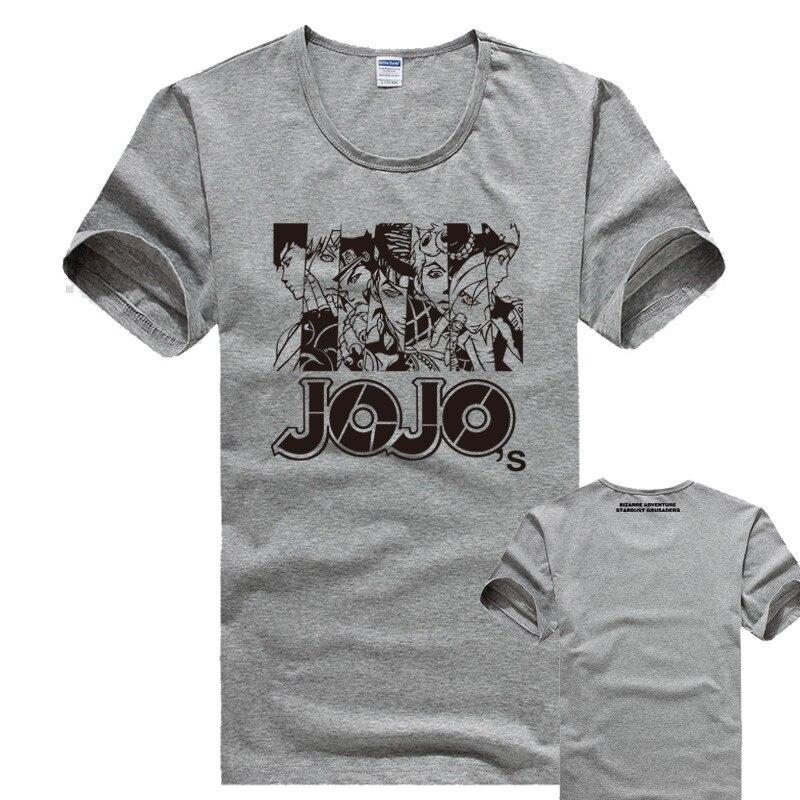 HOT Sale summer JoJo JoJo s Bizarre Adventure Shirt Heavens door ... 1a349ef1c7f