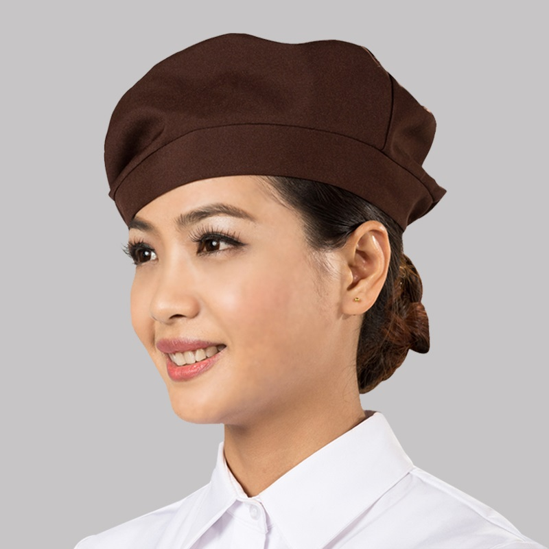 (10pcs/lot)Hotel chef hat working cap restaurant waiters and waitresses beret kitchen household hat men and women adjustable