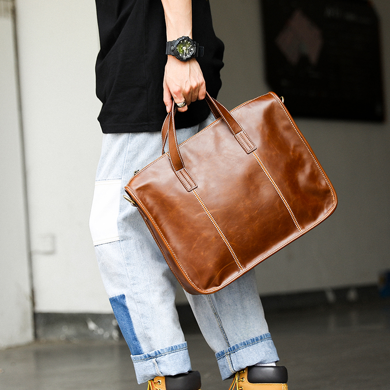 Tidog Korean Fashion Business Retro Briefcase