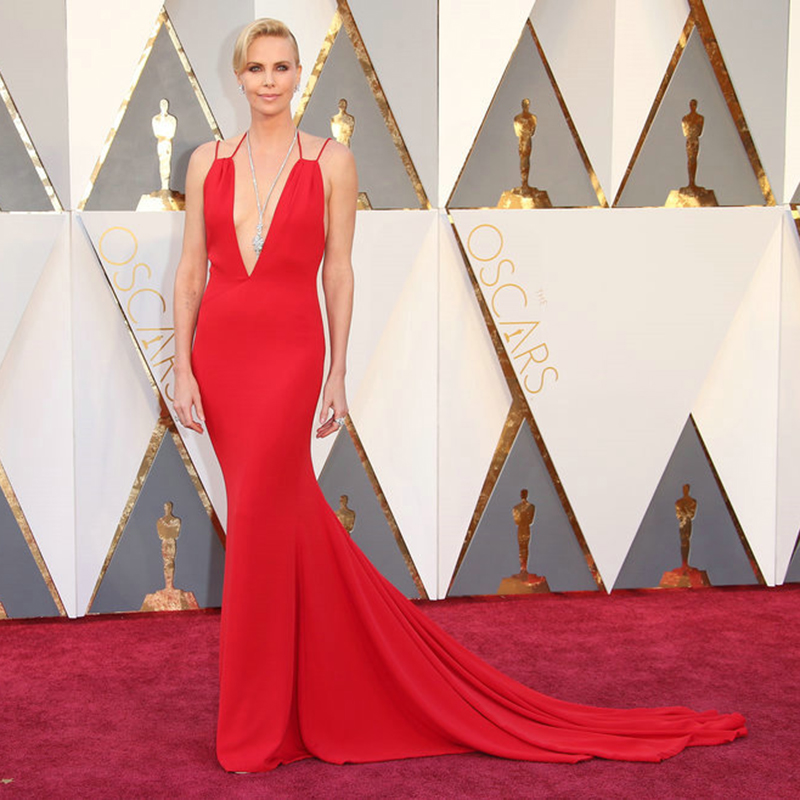 88th Oscars Academy Awards 2019 Charlize Theron Celebrity