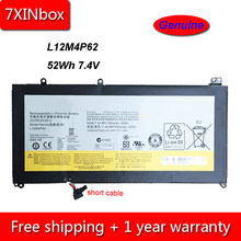 7 XINbox 52Wh 7100 mAh 7.4 V Genuine L12L4P62 L12M4P62 Bateria Do Portátil Para Lenovo Ideapad U430 U430P U430T U530 Toque 2ICP6/55/85-2