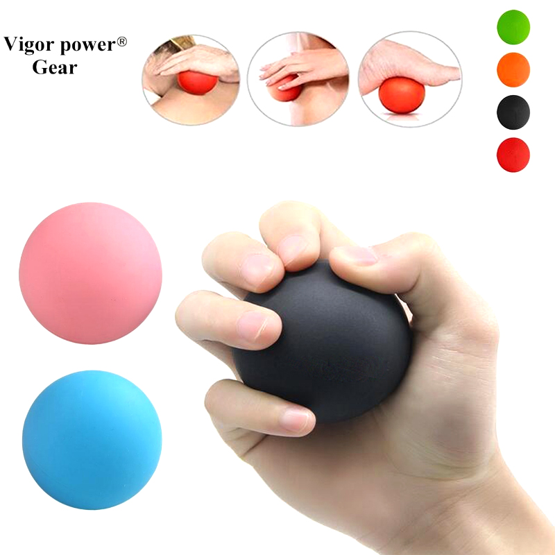 Vigor Powe Gear Fitness Massage Ball Therapy Yoga Roller Ball Full Body Exercise Relax Relieve Fatigue Tools Muscle Relax ball