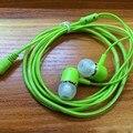 Super Bass Auriculares Estéreo de 3.5 MM de Metal de Teléfono Del Oído Ordenador MP3 Universal Clear Voz Auriculares de Buena Calidad