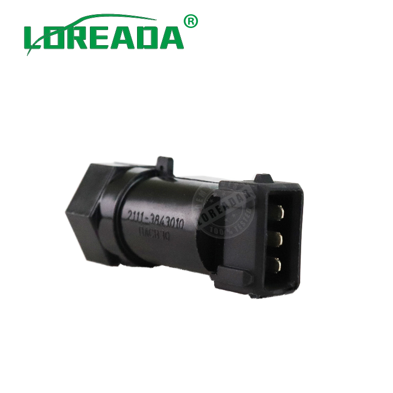 LOREADA Transmission Speed ​​Sensor FÖR LADA 343.3843 2111-3843010 21113843010 35172.04 3517203 3433843 3517204 OEM kvalitet