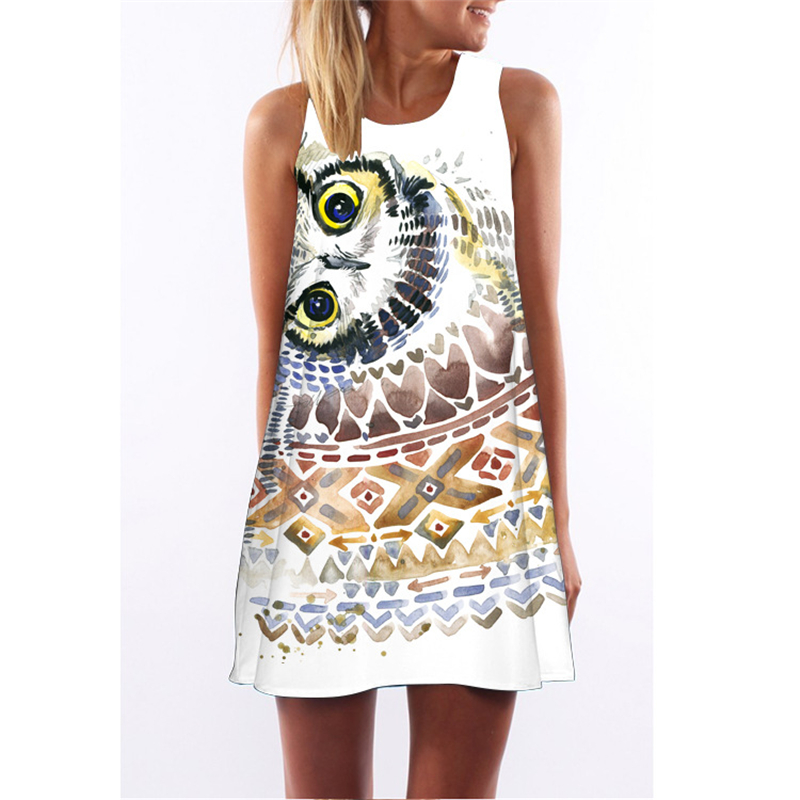 Buy owl dresses for women and get free shipping on AliExpress.com 70b498140e2a