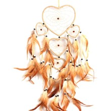 Heart Shaped Dreamcatcher for Home Decor