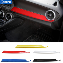 MOPAI Car Interior Front Passenger Seat Copilot Panel Decoration Stickers for Chevrolet Camaro 2017 Up Car Accessories Styling
