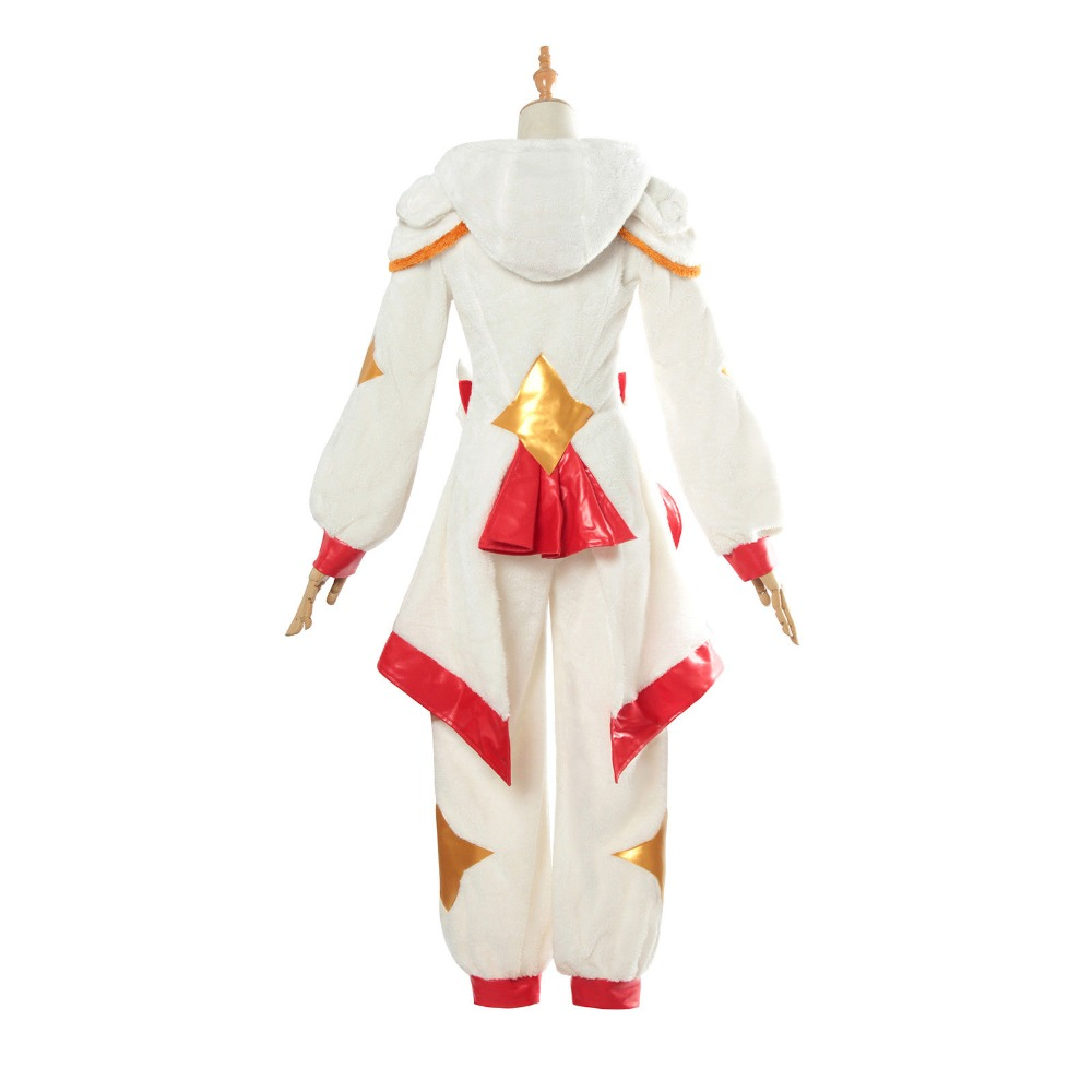LOL League of Legends Miss Fortune Pajamas Star Guardian Cosplay Costume Flannel