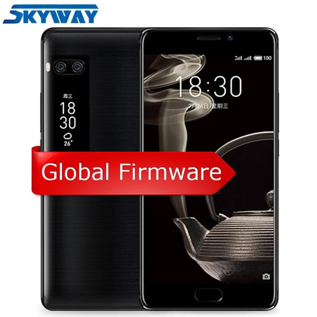 """Meizu Pro 7 плюс 6 ГБ 64 ГБ/128 ГБ 4 г LTE MTK helio X30 Дека Core 5.7 """"2 К Экран двойной Сзади 12.0 м Быстрая зарядка двойной осыпи сотовый телефон"""