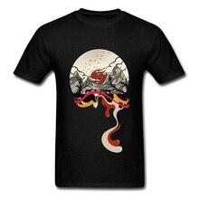 Landscape Vinyl Record T-shirt / 10 Colors